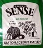 diatomaceous earth from a bag