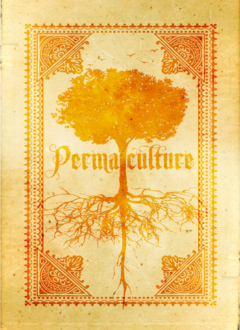 permaculture playing card back