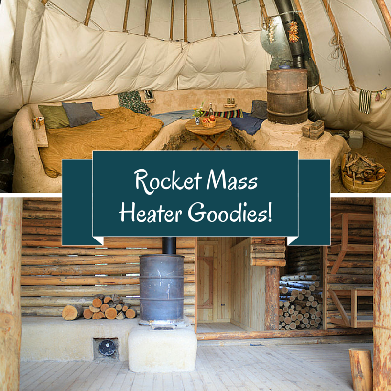 Rocket Mass Heater Goodies (plans/ebooks) Combo