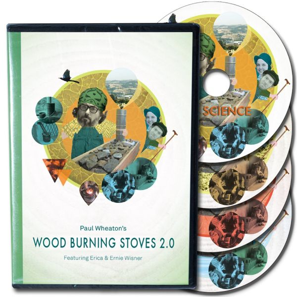 wood burning stoves dvd set