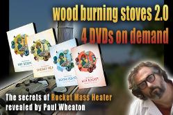 rocket mass heater DVD