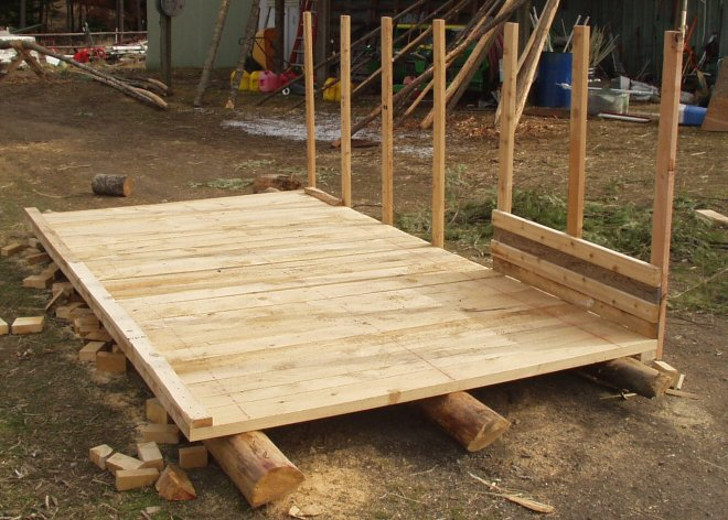 attaching walls to pig shelter